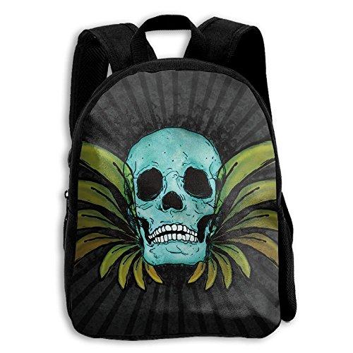 Crystal Face Skull Bag - 4