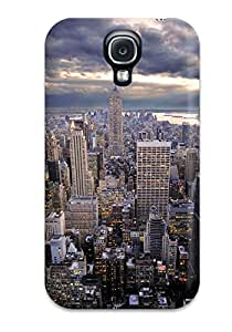 High Impact Dirt/shock Proof Case Cover For Galaxy S4 (city)