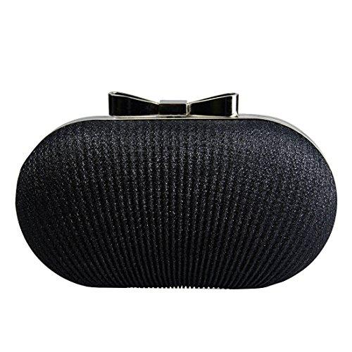YYW Evening Bag, Pochette pour femme Noir