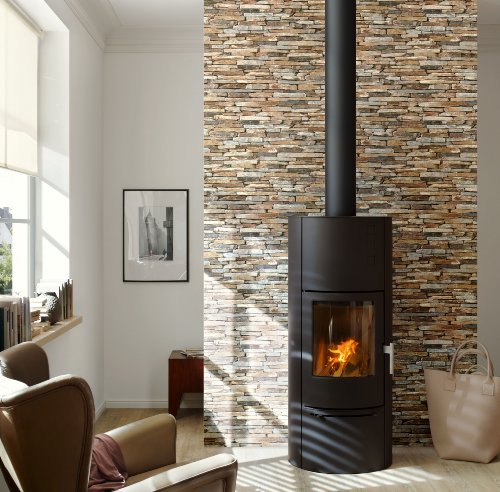 A.S. Creation 9142-17 Wood and Stone Natural Wallpaper by A.S. Création (Image #4)