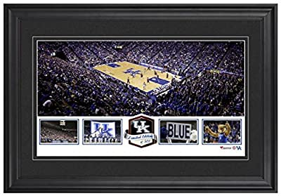 Rupp Arena Kentucky Wildcats Framed Panoramic Collage-Limited Edition of 500 - Fanatics Authentic Certified