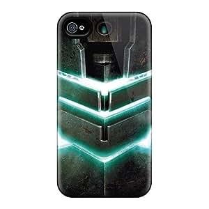 DateniasNecapeer Shockproof Scratcheproof Dead Space 2 Armor Hard Cases Covers For Iphone 4/4s