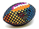 Fun Gripper (TD Tie-Dye 7.0 Inch Mini Football ( PERFECT FOR INDOORS) By: Saturnian I P.E. Supplier (Great for Kids)