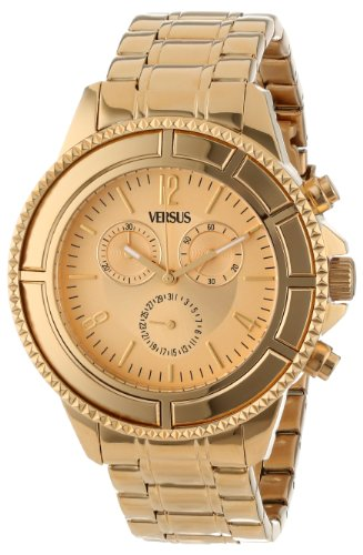 versus by versace men s sgn020013 tokyo stainless steel luminous versus by versace men s sgn020013 tokyo stainless steel luminous hands chronograph date watch amazon co uk watches