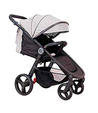 Star Ibaby Air Silla de paseo Negro Beige Sand