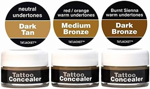 Tatjacket Concealer Blender Pack, Dark