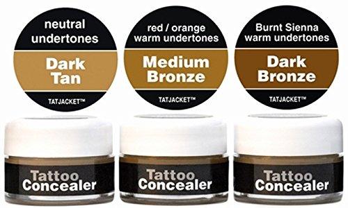 Tatjacket Concealer Blender Pack Dark 1 Count