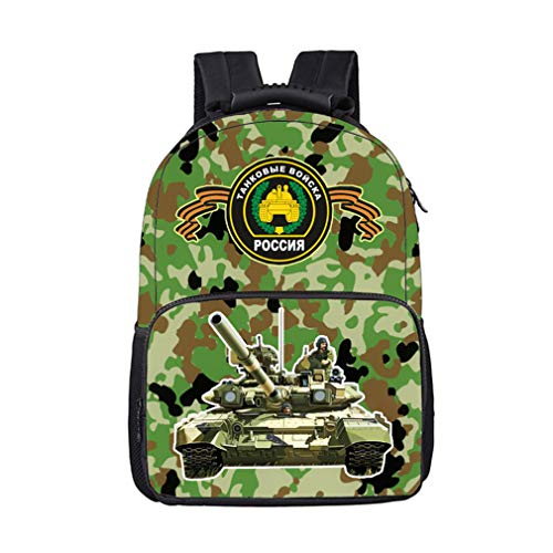 Backpack MZB01 17 Camouflage Tank Bags Military School SwYAqTE