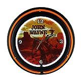 John Wayne Neon Clock - You'll Enjoy It, Pilgrim