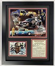 Legends Never Die Dale Earnhardt Sr. Framed Photo Collage, 11 x 14-Inch