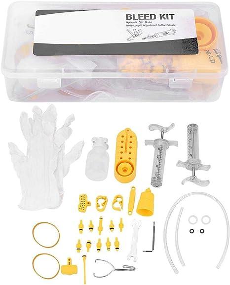 Kit de Reparación de Freno de Disco Hidráulico, Kit de Purga de ...