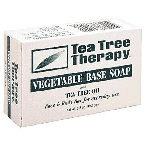 Tea Tree Therapy, Soap Bar, Vegetable Base, 3.5 oz (3-Pack)