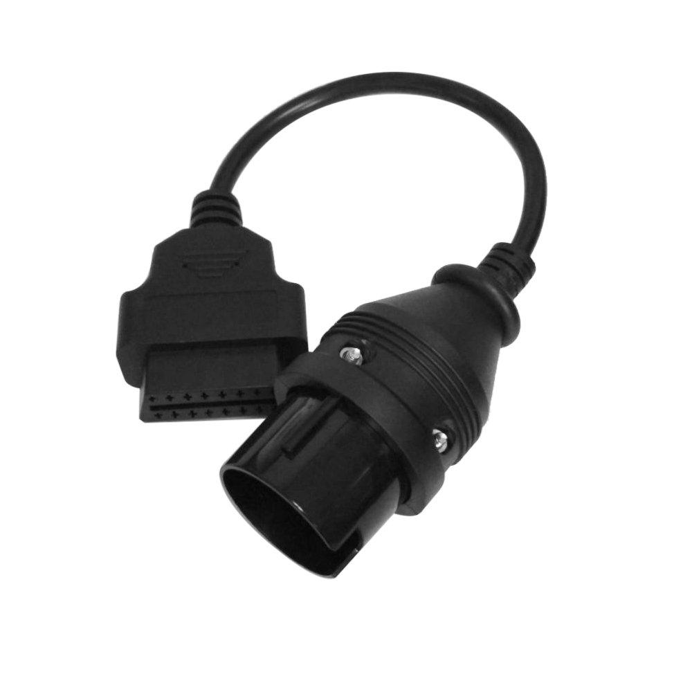 KKmoon-Cable para el conmutador para Mercedes Benz a 38Pin 16Pin OBD 2-Cable