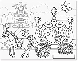 Melissa Doug 14263 Dev Boyama Kitabi Prenses Ve Peri Amazon Com Tr