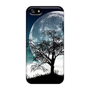 New Cute Funny Moonlight Case Cover/ Iphone 5/5s Case Cover