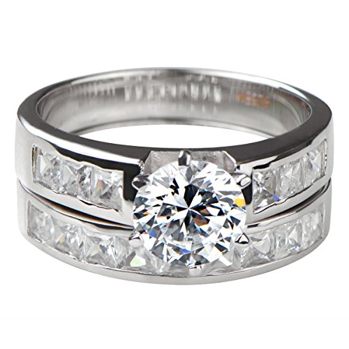 Zora's Round Cut CZ Wedding Ring ()