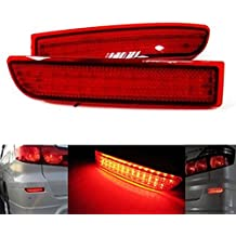 BSLighting 2x Toyota RAV4 Previa Alphard LED Rear Bumper Reflector Brake Stop Signal Light