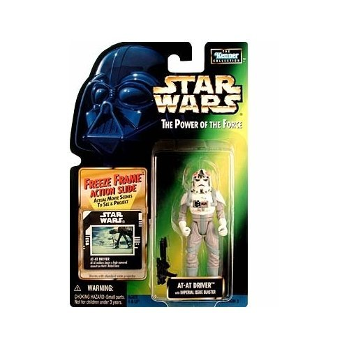 (Star Wars: Power Of The Force Freeze Frame ≫ At-At Driver Action Figure)