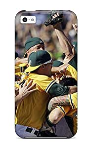 TYH - Best oakland athletics MLB Sports & Colleges best ipod Touch 4 cases phone case