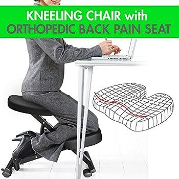 Amazon Com Sleekform Rocking Kneel Chair For Perfect