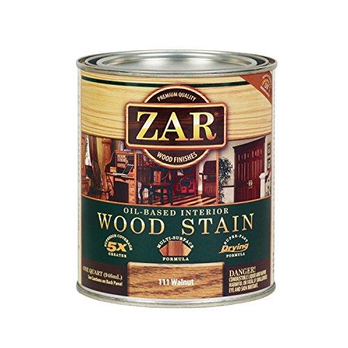 (ZAR 11112 Wood Stain, QT, Walnut)