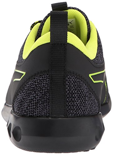 Puma Mens Carson 2 Terrain Sneaker Puma Nero-silenzioso Ombra-giallo