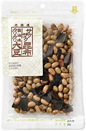 三海幸 醤油味カリカリ大豆・サクサク昆布ミックス 70g