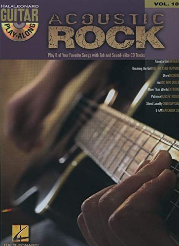 r Play-Along Volume 18 (Acoustic Rock Songbook)
