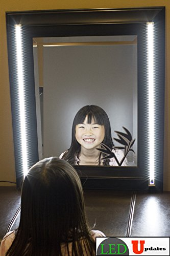 MIRROR light white VANITY adapter