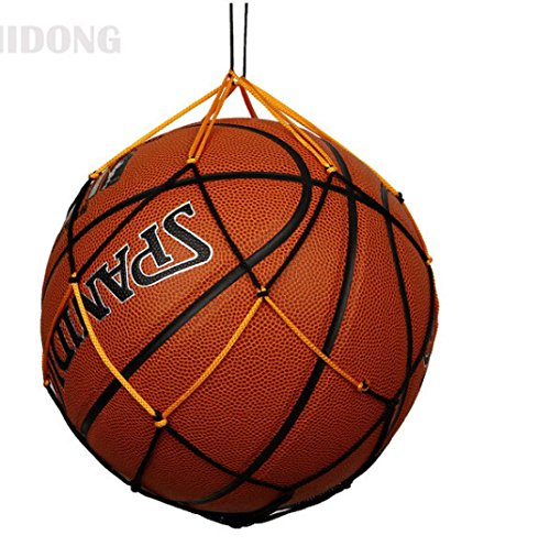 Nylon Mesh Bag, G-real Sport Equipment Bag Drawstring Ball Mesh Net Nylon Ball Carrier Hold Basketballs, Footballs, Soccer Balls, Rugby, Volleyballs, Softballs - All around Sports Bag for Balls
