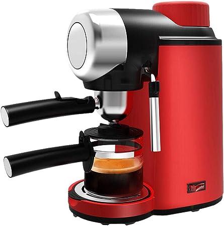 DAETNG Paquete semiautomático de cafetera Espresso y cafetera pequeña con espumador de Leche, Metal Grafito, decoración de Acero Inoxidable para el hogar y la Oficina: Amazon.es: Hogar