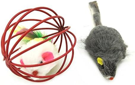 Jouets Chat, PietyPet Jouet pour Chat Animaux Domestiques Toys pour Chat Chaton Minou, 13 pièces