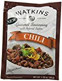 Watkins Gourmet Seasoning with Natural Spice Mix, Chili, 1.25 Ounce (Pack of 12)