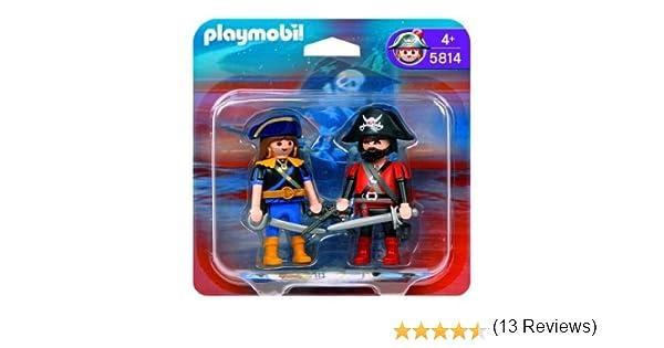 Playmobil Duo Pack Piratas: Amazon.es: Juguetes y juegos