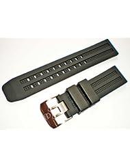 LUMINOX Rubber 8050 8150 8250 8350 8360 Navy Seal WATCH BAND 23mm EUS Signature PU Strap