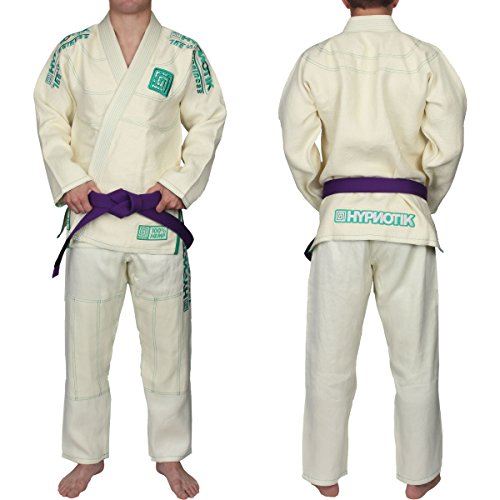 A4 Natural (Hypnotik ZenRoll Hemp BJJ Gi - Natural White - A4)