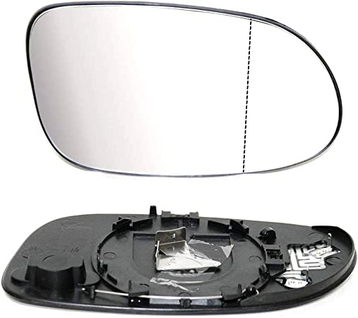 Außenspiegel Spiegelglas Spiegel Glas Ersatzglas Beheizbar Heizung Konvex Asphärisch Weitwinkel Rechts Kompatibel Mit A Klasse W168 1998 2004 Oem A1708100421 Auto