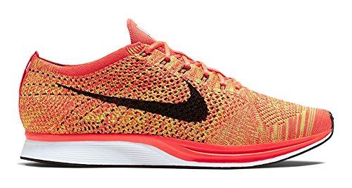 Zapatillas De Running Nike Unisex Flyknit Streak Bright Crimson / Black / Volt