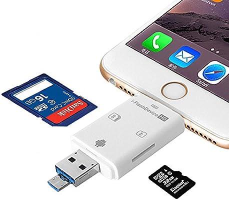 Micro SD/TF lector de tarjetas, myecogo tarjeta SD adaptador USB ...
