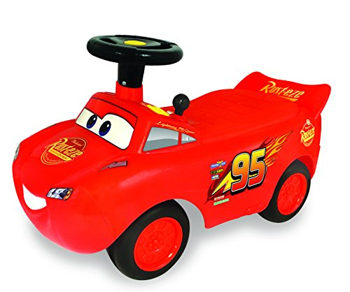 Kiddieland Toys Limited My Lightning Mcqueen Racer Ride On (Pedal Racer Car Toy)