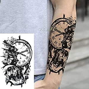 adgkitb 3 Piezas Impermeable Tatuaje Temporal Pegatina ...