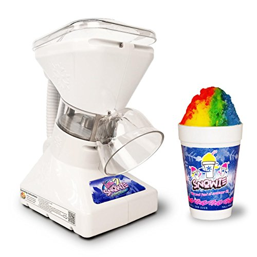 Little Snowie 2 Ice Shaver - Premium Shaved Ice Machine and Snow Cone Machine with Syrup Samples (Accessories Cone Sno)