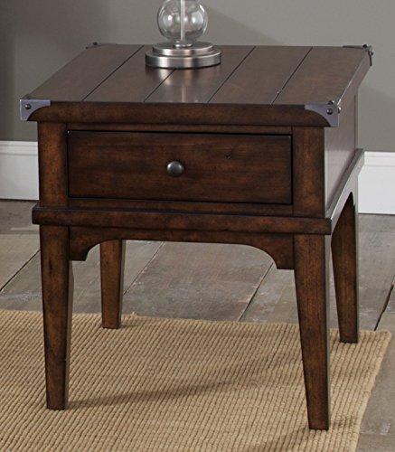 (Liberty Furniture INDUSTRIES 316-OT1020 Aspen Skies End Table, 23