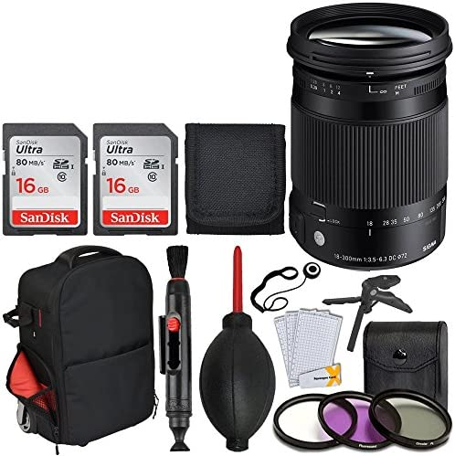 Sigma 18 300 Mm F 3 5 6 3 Dc Macro Os Hsm Objektiv Für Kamera