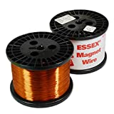 22 AWG Essex Magnet Wire, Enameled Heavy Build, HTAIH, GP/MR-200, 10 LB Spool, Research, Industrial Applications and Personal Projects
