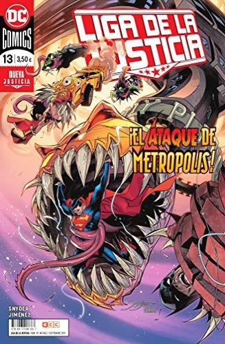 Liga de la Justicia núm. 91/13 (Liga de la Justicia (Nuevo Universo DC)) por Scott Snyder,Jorge Jiménez,San Rafael Simó, Francisco