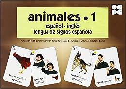 Animales 1. Baraja Español-ingles. Lengua De Signos Española PDF Descarga gratuita
