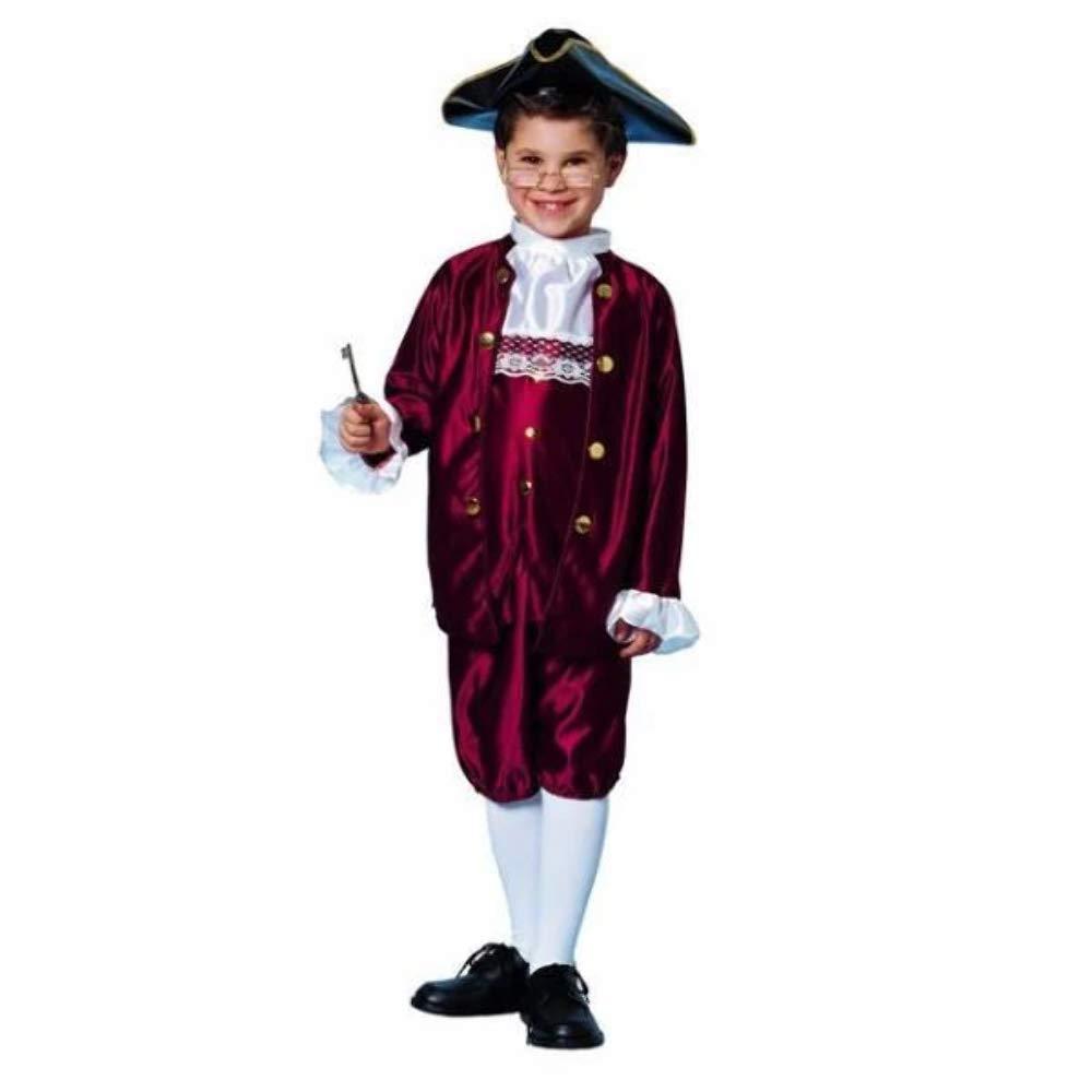 Ben Franklin Costume (Small) by Franco: Amazon.es: Juguetes y juegos