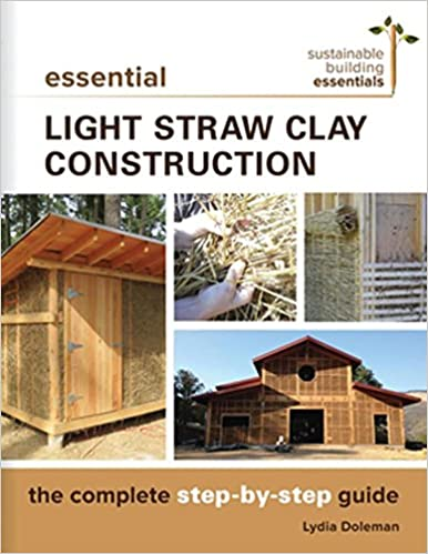 Essential light straw clay construction the complete step by step essential light straw clay construction the complete step by step guide sustainable building essentials series lydia doleman 9780865718432 amazon fandeluxe Gallery