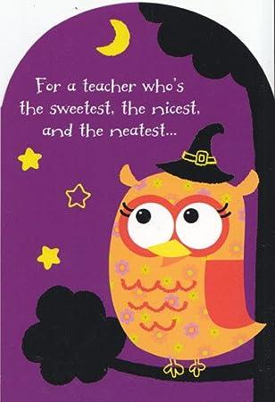 "Amazon.com: Halloween ""tarjeta de felicitación para un ..."